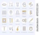 contraceptive methods line... | Shutterstock .eps vector #692101114