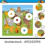 cartoon vector illustration of... | Shutterstock .eps vector #692102593