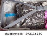 vacuum compress bag for clothes ... | Shutterstock . vector #692116150