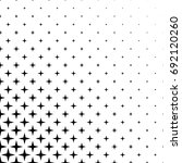 monochrome star pattern  ... | Shutterstock .eps vector #692120260