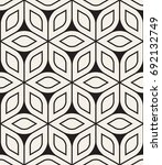 vector seamless pattern. modern ... | Shutterstock .eps vector #692132749