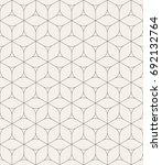 vector seamless pattern. modern ... | Shutterstock .eps vector #692132764