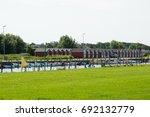denmark  northern jutland  nibe.... | Shutterstock . vector #692132779