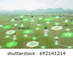 iot  internet of things ... | Shutterstock . vector #692141314