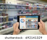iot  internet of things smart... | Shutterstock . vector #692141329