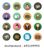 management icons | Shutterstock .eps vector #692149993
