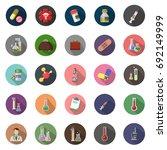 medicine icons | Shutterstock .eps vector #692149999