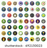 sports icons | Shutterstock .eps vector #692150023