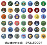 security icons | Shutterstock .eps vector #692150029