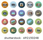 photography icons | Shutterstock .eps vector #692150248