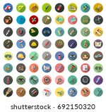 tools icons | Shutterstock .eps vector #692150320