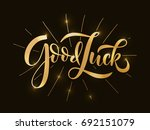 Hand Sketched Good Luck T Shirt ...
