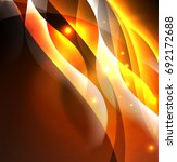 vector abstract illuminated... | Shutterstock .eps vector #692172688