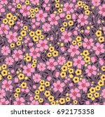 cute floral pattern in the... | Shutterstock .eps vector #692175358