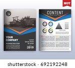 multipurpose modern corporate... | Shutterstock .eps vector #692192248