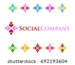 social people icon | Shutterstock .eps vector #692193604
