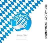 oktoberfest bavaria flag ribbon ...