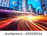 abstract speed technology...   Shutterstock . vector #692208316