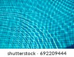 Blue Ripped Water In Swimming...
