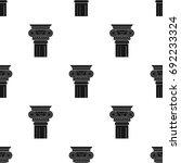 column icon in black style... | Shutterstock .eps vector #692233324