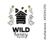 Honey Label Design. Concept For ...