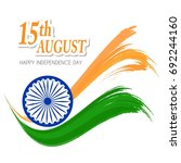 india independence day... | Shutterstock .eps vector #692244160