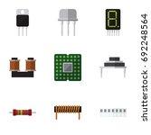 flat icon appliance set of...   Shutterstock .eps vector #692248564