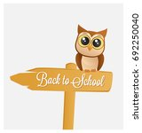 back to school design   cute... | Shutterstock .eps vector #692250040