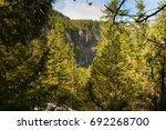 waterfall view at kandersteg | Shutterstock . vector #692268700