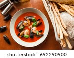 gazpacho | Shutterstock . vector #692290900