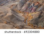 kyzyl chin valley altai... | Shutterstock . vector #692304880