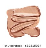 smear paint of cosmetic... | Shutterstock . vector #692315014