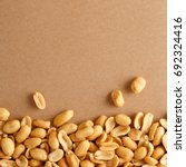 peanuts viewed from above. top...   Shutterstock . vector #692324416