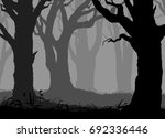 black and white background with ... | Shutterstock .eps vector #692336446
