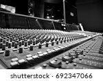 recording studio  | Shutterstock . vector #692347066