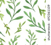 green leaf illustration ... | Shutterstock . vector #692361109