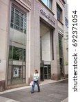 chicago  usa   june 26  2013 ... | Shutterstock . vector #692371054