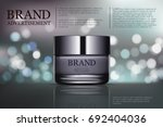 beauty anti aging cream ad.... | Shutterstock .eps vector #692404036