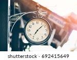 Old Vintage Style Clock Hanger...
