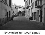 italian village | Shutterstock . vector #692415838
