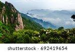 sanqing mountain landscape ... | Shutterstock . vector #692419654