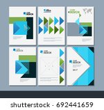 vector minimalistic cover... | Shutterstock .eps vector #692441659