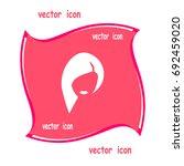 hairdresser  a beauty salon  an ... | Shutterstock .eps vector #692459020
