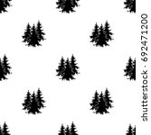 canadian spruce. canada single... | Shutterstock .eps vector #692471200