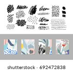 collection of different... | Shutterstock .eps vector #692472838