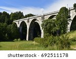 Small photo of Railway viaducts Poland
