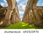 Fountains Abbey In North...