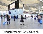 saint petersburg  russia   may...   Shutterstock . vector #692530528