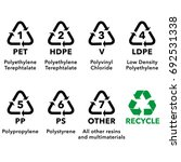 illustration icons  recycling