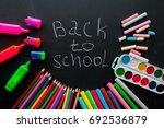 back to school concept.school... | Shutterstock . vector #692536879